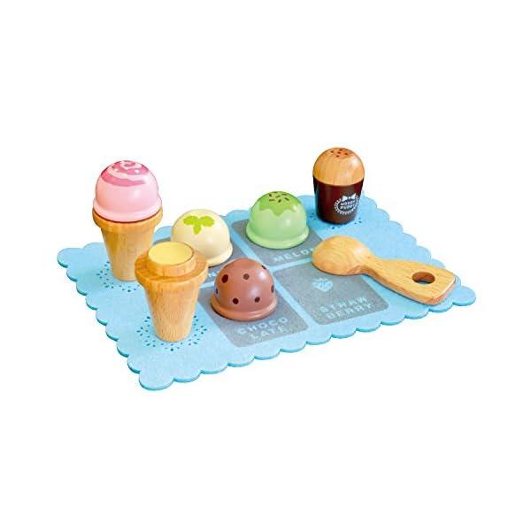 はじめてのおままごと アイスクリームセットの商品画像