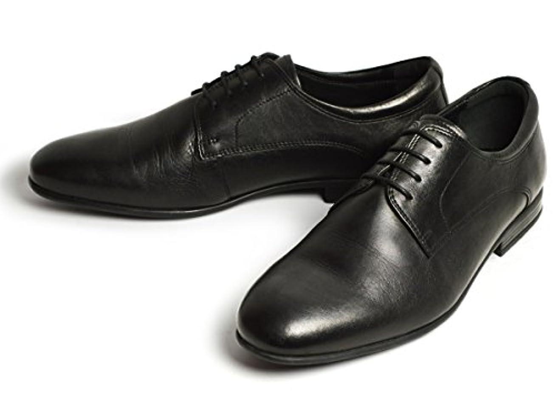 嘆願崇拝します抗生物質Alessio Nesca 走れる 本革 ビジネスシューズ メンズ 革靴 コンフォート シューズ ストレートチップ プレーントゥ