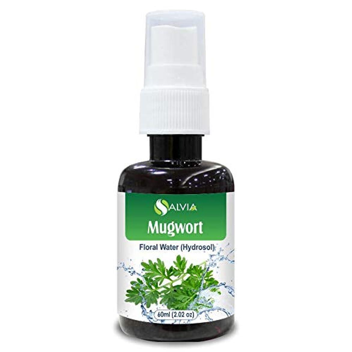 有用割れ目窓を洗うMugwort Floral Water 60ml (Hydrosol) 100% Pure And Natural