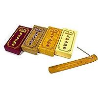 台湾沉香舍 お香 香木 4 品种線香セット(2檀香+2沈香) 各1パック : 15cm