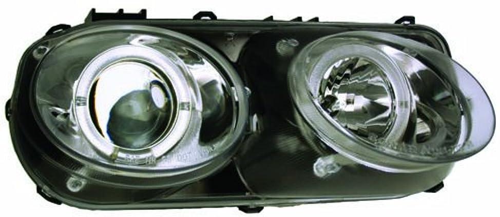 ボランティアネズミ亡命IPCW CWS-108C2 Acura Integra 1998-2000 Head Lamps, Projector With Rings Chrome