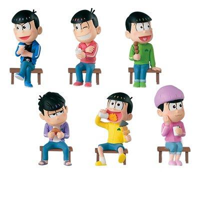おそ松さん -チビ太のおでん- ワールドコレクタブルフィギュア + MEGAワールドコレクタブルフィギュア 全7種セット