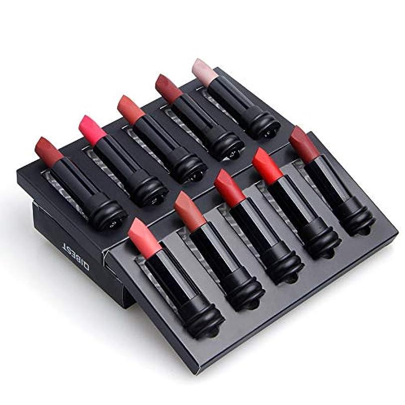 常習的変成器プロフィールEldori 2019 新作 リップスティック セット 5色 口紅 長続き防水リップ 化粧品 マット リップスティック セット 5本/セットコスプレ、ハロウィーン、クリスマスなどに兼用 カボチャの色 (M)