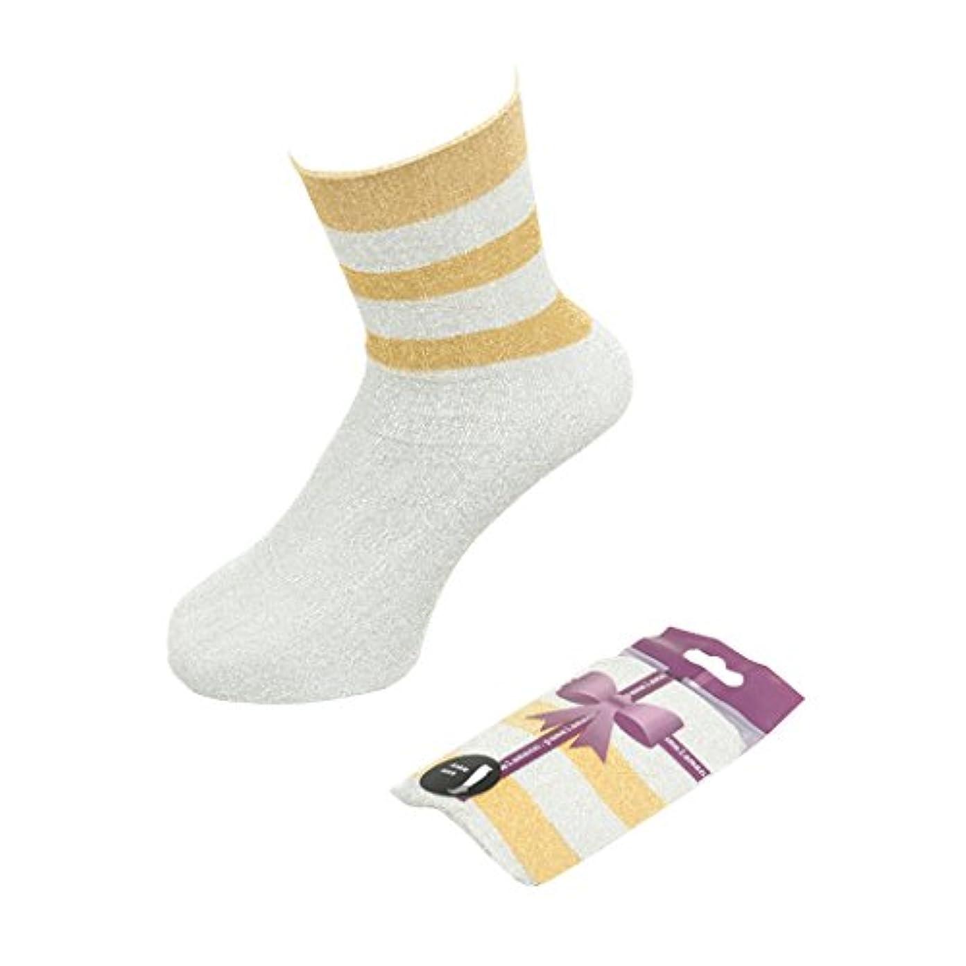 収束するおんどり高層ビル(パメラマン) PamelaMann Ankle Socks[5334400] ワンサイズ 11 Silver Gold