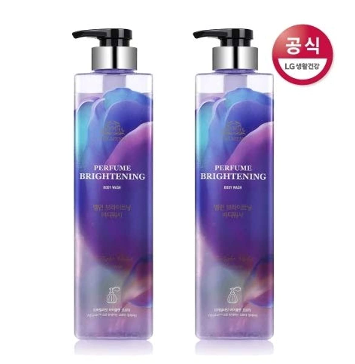 農民ポケットフロント[LG HnB] On the Body Belman Perfume Brightening Body Wash / オンザボディベルモンパフュームブライトニングボディウォッシュ680mlx2個(海外直送品)