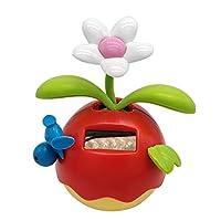 B Blesiya 3色選ぶ ソーラー発電 ダンスフィギュア フリップフラップ 子供玩具 飾り - レッド