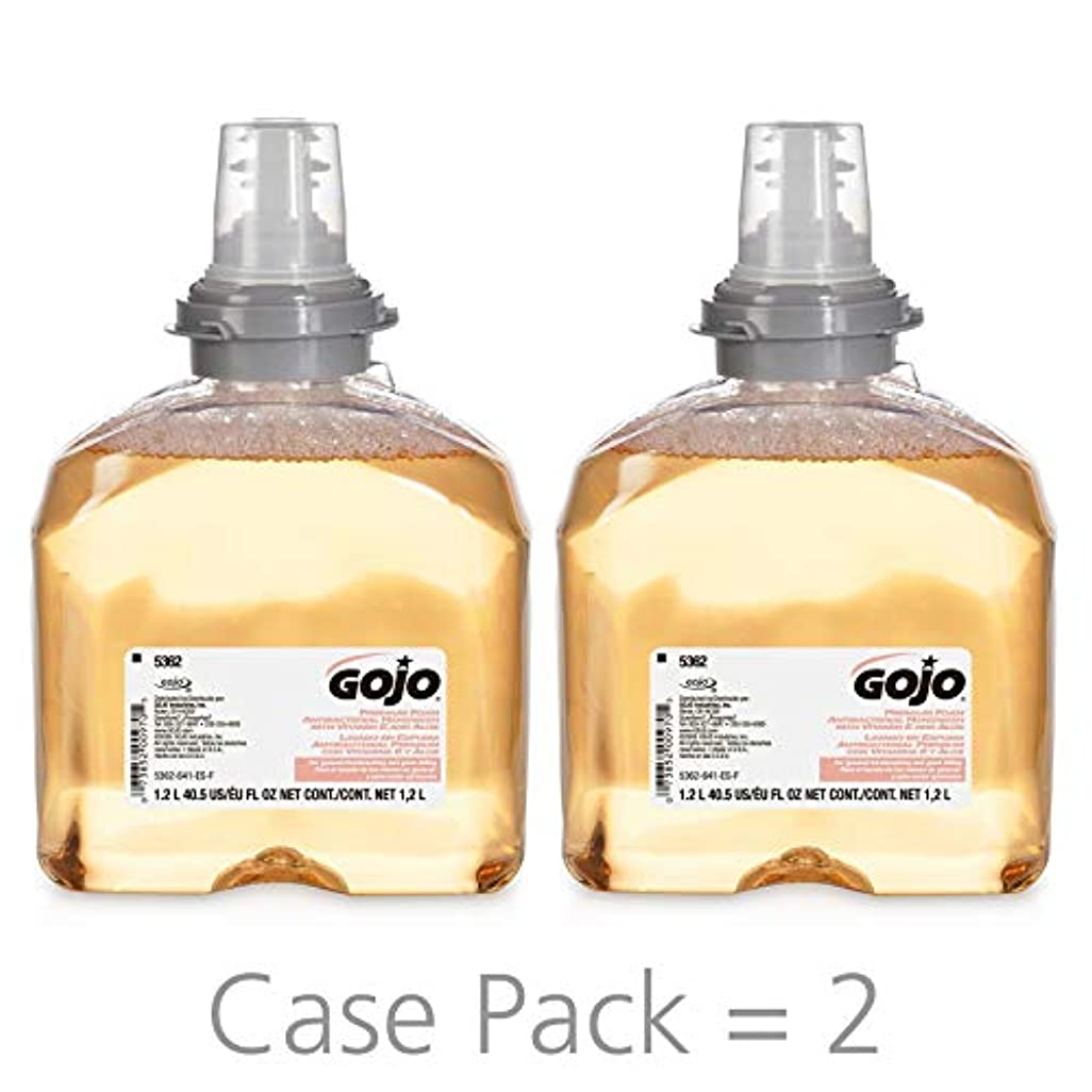 理容室故国不機嫌Premium Foam Antibacterial Hand Wash, Fresh Fruit Scent, 1200ml (並行輸入品)
