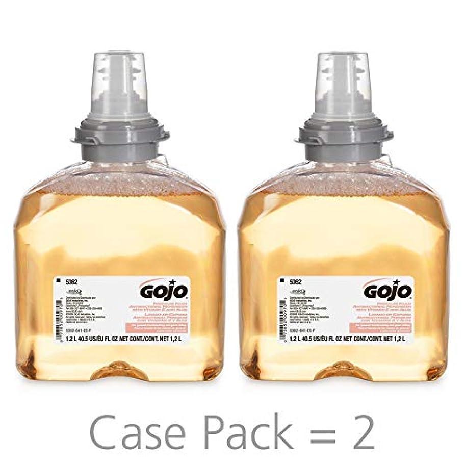 モールス信号粘土大統領Premium Foam Antibacterial Hand Wash, Fresh Fruit Scent, 1200ml (並行輸入品)
