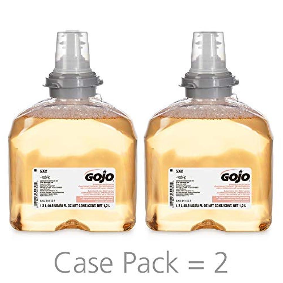 学者報復する甲虫Premium Foam Antibacterial Hand Wash, Fresh Fruit Scent, 1200ml (並行輸入品)