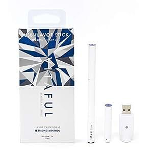 VITAFUL ビタフル 電子タバコ 充電式フレーバースティック セット (スターターキット ストロングメンソール)