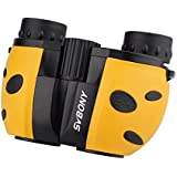 SVBONY Kids Binoculars Mini Compact Size 8x21 for Bird Watching Watch Wildlife Scenery Game Best Gifts for Children Educational Learning