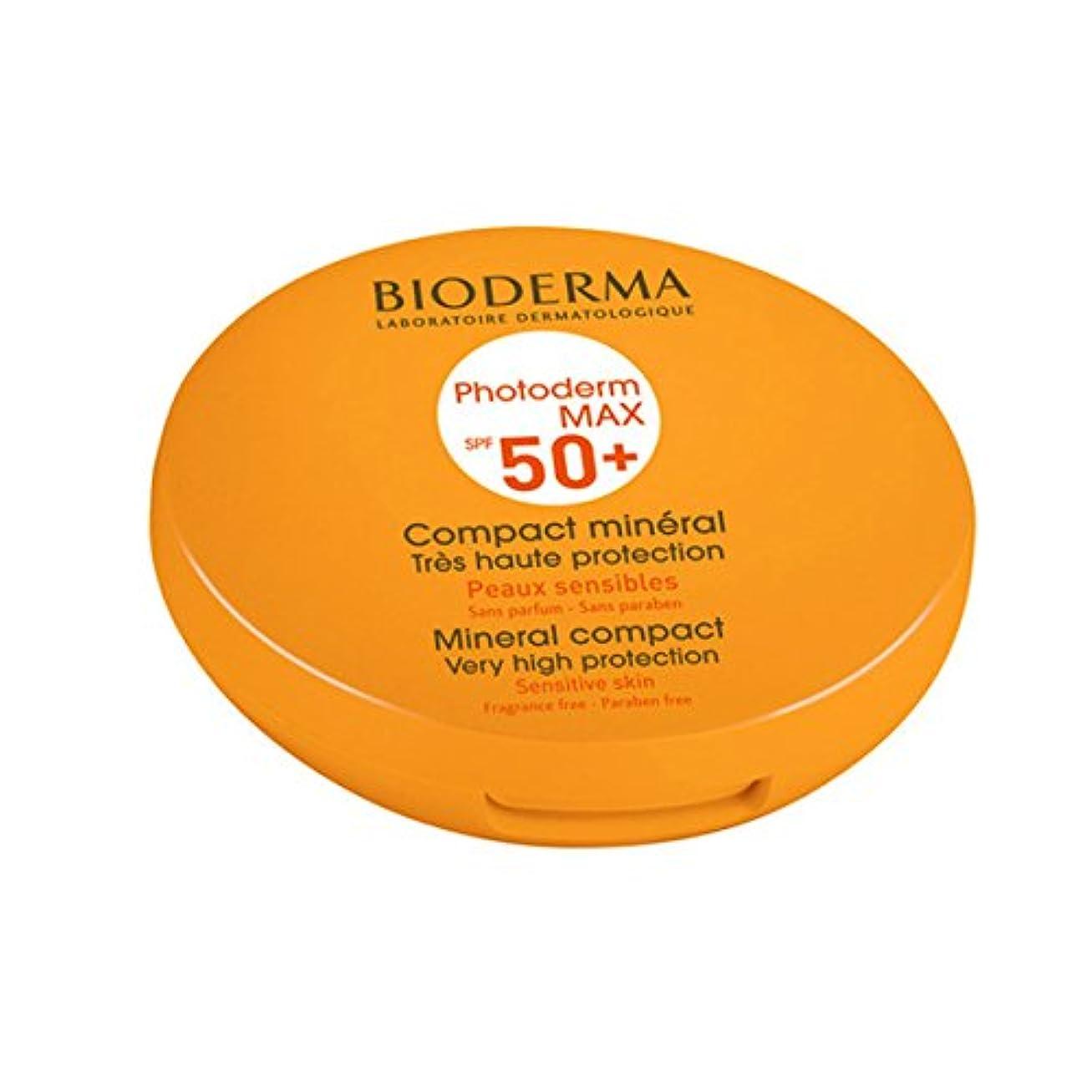 直接細断のホストBioderma Photoderm Max Compact Mineral 50+ Golden 10g [並行輸入品]