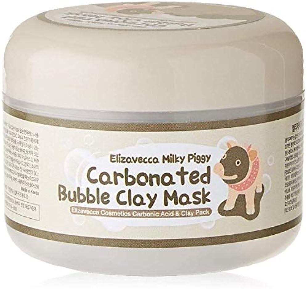 ファイアル自己じゃないElizavecca Milky Piggy Carbonated Bubble Clay Mask 100g -2 Packs