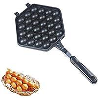 焼き器 グリルパン 卵焼き用フライパン 卵焼きトレイ QQ卵型ケーキ機 ガス用ベーキング金型 不粘 着脱簡単 手触り良い  おしゃれ