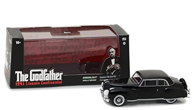 1/43 グリーンライト GREENLIGHT The Godfather 1941 Lincoln Continental ゴッドファーザー リンカーン コンチネンタル ミニカー アメ車