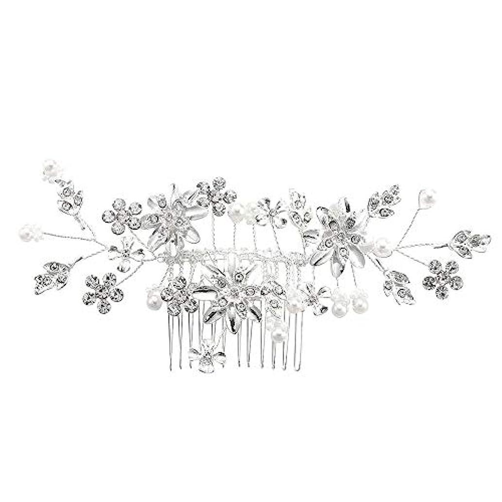 マザーランドインストール後方に髪の櫛、櫛、合金、ラインストーンの櫛、真珠の髪の櫛、ブライダル髪の櫛、結婚式の髪の櫛