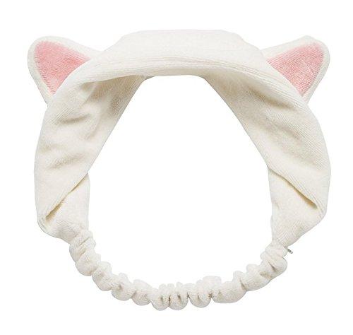 美美や 超可愛い 猫耳 ヘアバンド カチューシャ 顔洗い 洗...