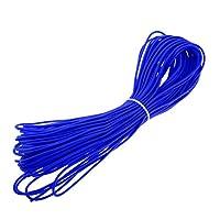 SONONIA 弾性 バギーロープ ショックコード タイダウン カヤック ボート カヌー用 全9サイズ - 青, 30m