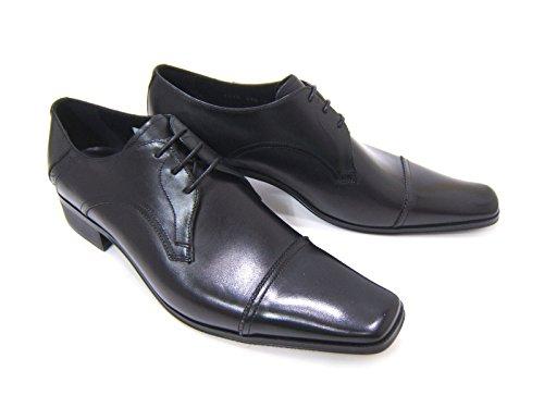 [해외]KATHARINE HAMNETT 캐서린 KH-3980 블랙  26.5cm 신사 구두 비즈니스 슈즈 롱 노즈 스퀘어 투 스트레이트 팁/KATHARINE HAMNETT Katherine Hamnet KH-3980 Black   26.5 cm Men`s Shoes Business Shoes Long Nose Square To Straight Chip