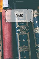 Chad: Ruled Travel Diary Notebook or Journey  Journal - Lined Trip Pocketbook for Men and Women with Lines