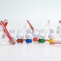 miffy ミッフィー テトラフィビッツ マスコット 6カラー各2 12個コンプセット (スタンダードカラー)