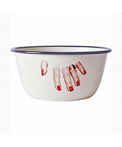 SELETTI (セレッティ) TOILETPAPER ボウル FINGERS φ17×H8cm 欧米風 海外風 おしゃれ かわいい カラフル 派手 デザイン キッチン 食卓 お皿 食器 茶碗 どんぶり 126263