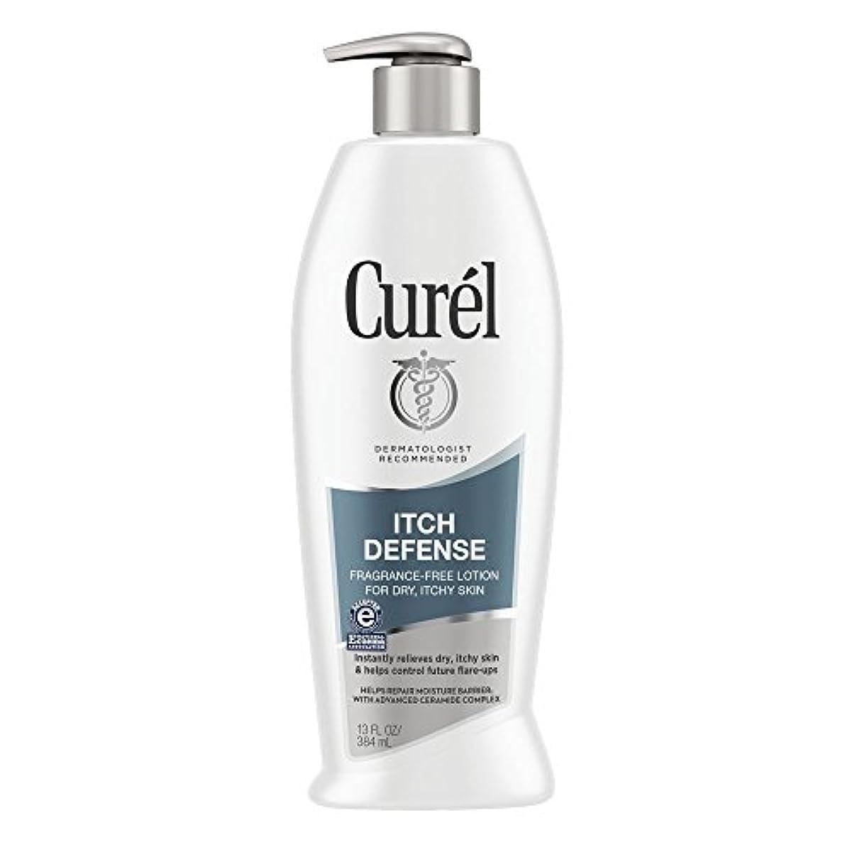 地下鉄心理学療法Curel Itch Defense Lotion 385 ml Lotion