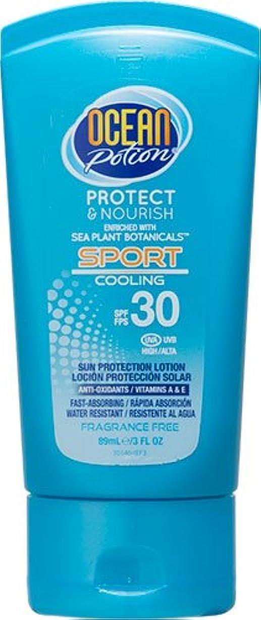 おめでとう閲覧する魅了するオーシャンポーション スポーツクーリング SPF30