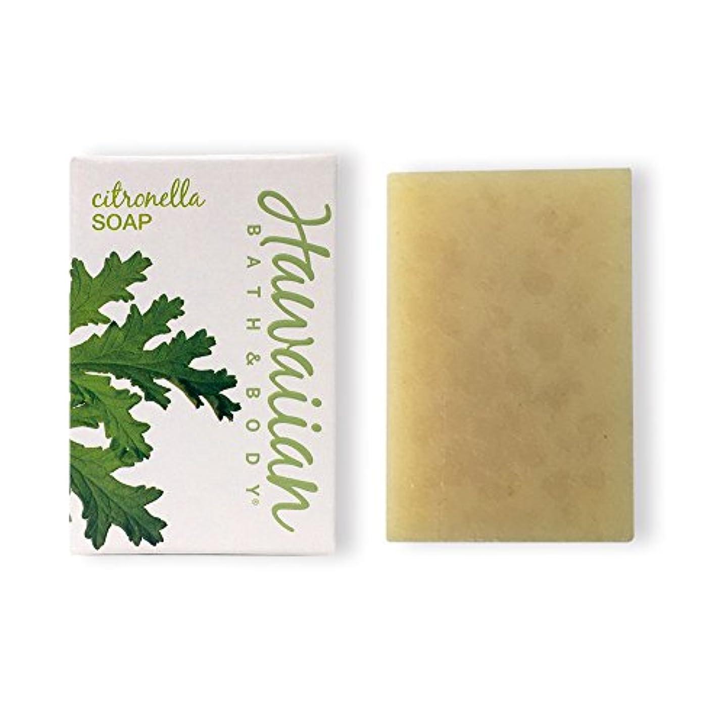 ミスペンド誓い再発するハワイアンバス&ボディ シトロネラソープ(ビーチバー)( Citronella Soap )