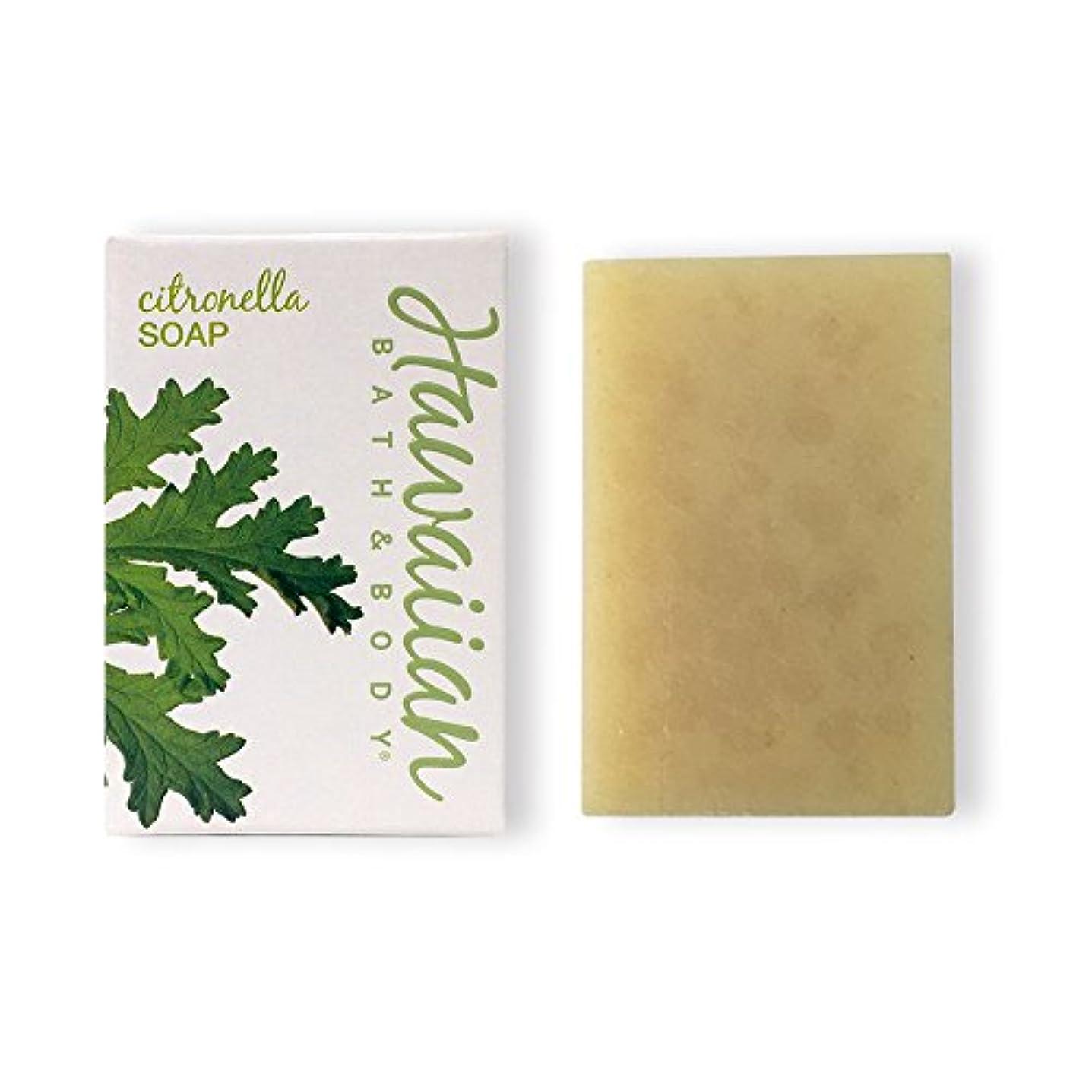 宿る同意する不快ハワイアンバス&ボディ シトロネラソープ(ビーチバー)( Citronella Soap )