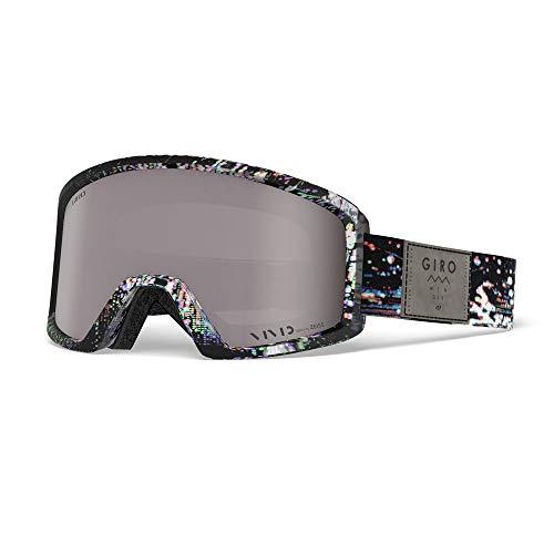 [ジロ] メンズ BLOK AF ブロック アジアンフィット スノーボードゴーグル Distortion Vivid Onyx 14 70950