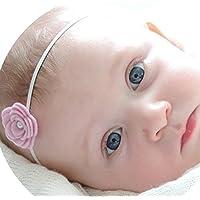 miugle赤ちゃん伸縮性ヘッドバンドand Bows