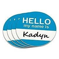 Kadyn こんにちは、私の名前はコースターセット