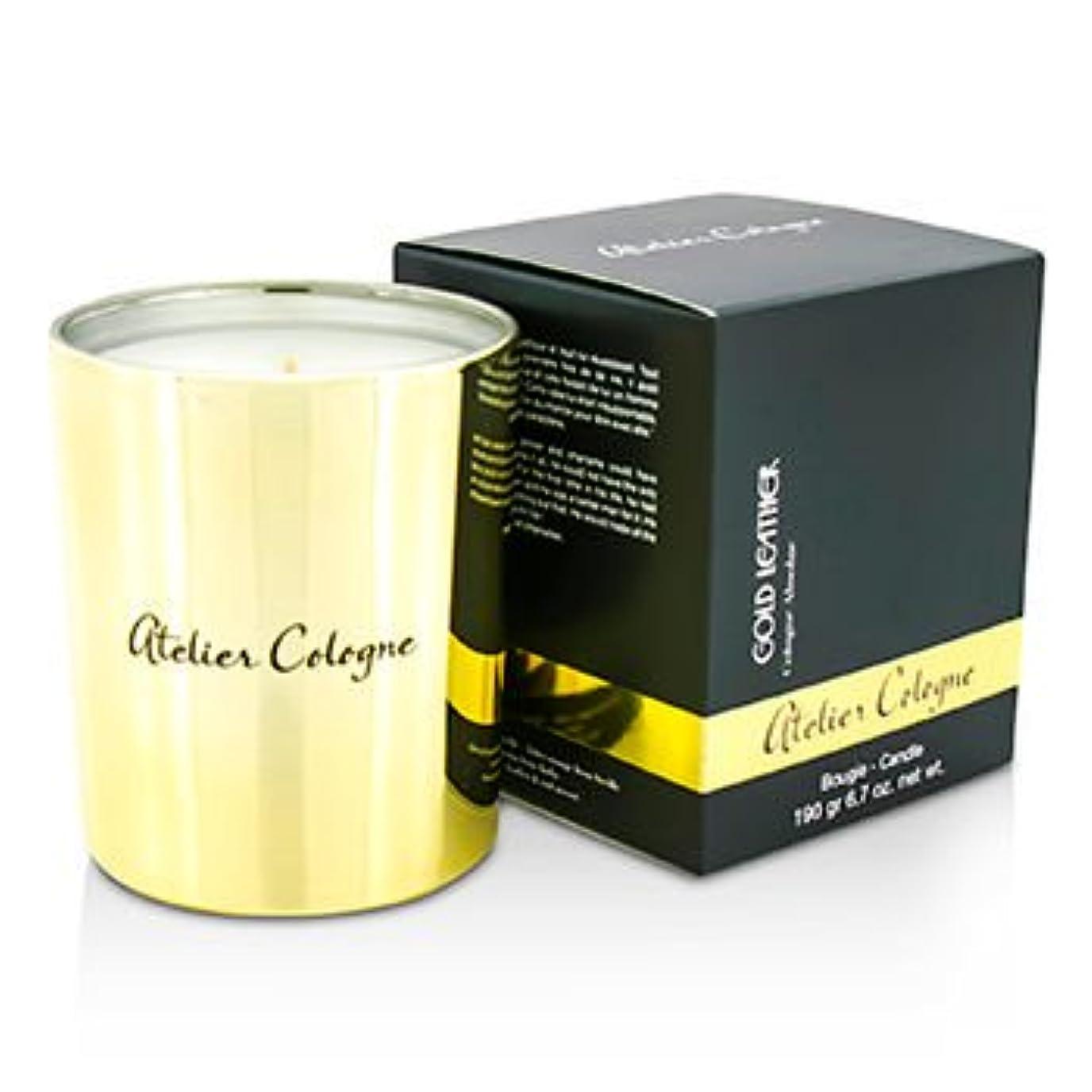 寺院負荷ライオン[Atelier Cologne] Bougie Candle - Gold Leather 190g/6.7oz