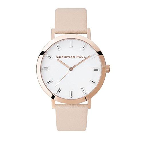 クリスチャンポール 腕時計 レディース ラグゼ ホワイト SL02PCPG 並行輸入品