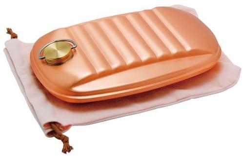 純銅 湯たんぽ(小・袋付)