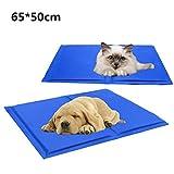 JTENG 犬 ベッド 猫 ベッド ペット用 マット ペットクールマット 中小型 犬猫用 多用途 涼感冷感マット 折り畳み式 65*50cm