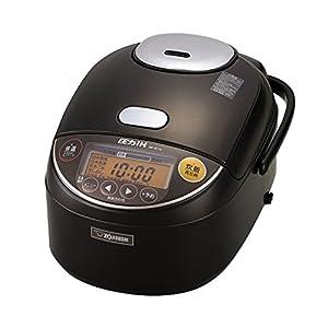 象印 炊飯器 圧力IH式 5.5合 ダークブラウン NP-ZC10-TD