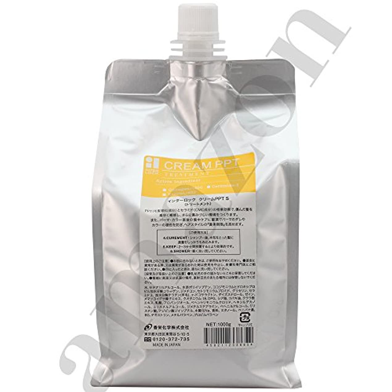 ライン理由関係香栄化学 インターロック クリームPPT S レフィル 1000g