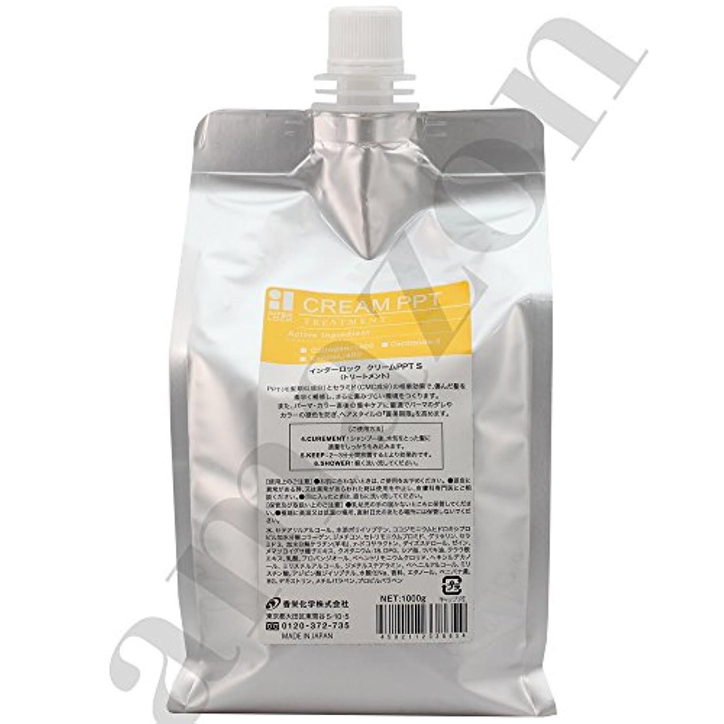 スローガン散髪漏れ香栄化学 インターロック クリームPPT S レフィル 1000g