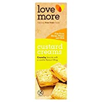 [Lovemore ] カスタードクリームの110グラムから無料ラブモア - Lovemore Free From Custard Creams 110g [並行輸入品]
