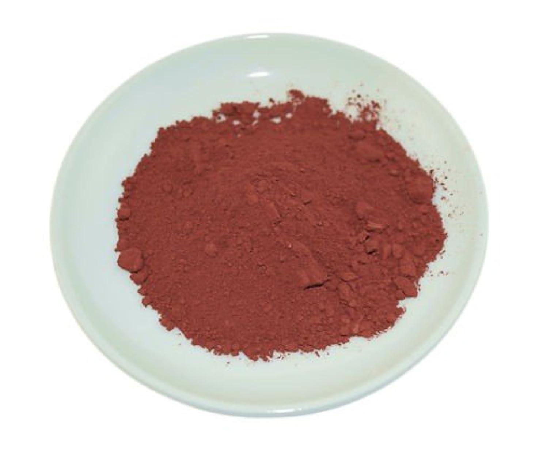 本物の授業料排泄物Red Oxide Mineral Powder 100g