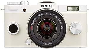 PENTAX ミラーレス一眼 Q-S1 ズームレンズキット [標準ズーム 02 STANDARD ZOOM] ピュアホワイト 06191