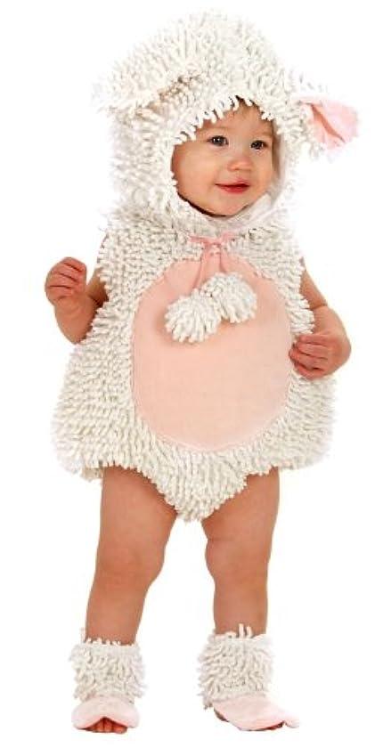 ずらすなぞらえる半島Little Lamb Infant/Toddler Costume リトルラム幼児/幼児コスチューム サイズ:6/12 Months