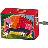 フリドリン ロジーナ ウォッチマイスター 「猫の休息」 58244 オルゴール 楽曲 アイネ?クライネ?ナハトムジーク ロジーナキャット 紙製