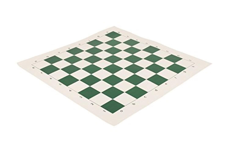 Regulation Vinyl Tournament Chess Board - 2.5 - Green by