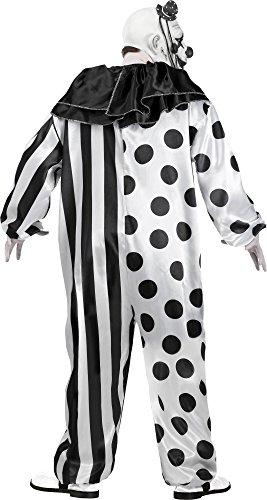 ハロウィン 衣装 【メンズ】 Fun World 131514 怖いピエロのコスチューム(ワンサイズ)