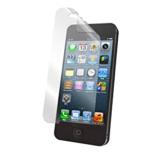 iBUFFALO iPhone5S/iPhone5C/iPhone5気泡が消える液晶保護フィルム 【なめらかな指すべり】スムースタッチタイプ BSIP12PFT