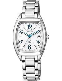 [シチズン]CITIZEN 腕時計 xC クロスシー エコ・ドライブ 電波時計 ステンレススチールライン ハッピーフライトシリーズ シンプルアジャスト ES9391-54A レディース