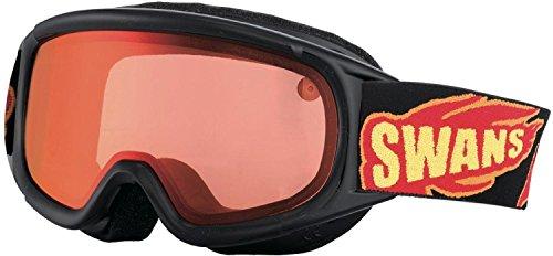SWANS(スワンズ) ジュニア スキーゴーグル UVカット スーパーブラック JUMPIN-MDH
